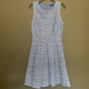 GAP Blue and White Stripe Dress with Pockets